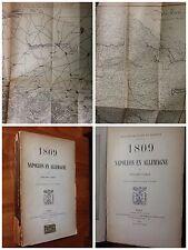 1913, HISTOIRE MILITAIRE DE MASSENA - 1809 NAPOLEON EN ALLEMAGNE