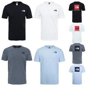 Men's The North Face TNF Redbox T Shirt 100% Cotton Short Sleeve Crew Neck Tee