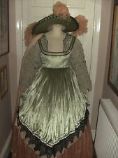LADIES THEATRICAL CAVALIER PERIOD COSTUME ROYAL OPERA HOUSE THEATRE STAGE DRESS