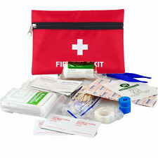 63 Piece Small First Aid Kit For Emergency Safety Travel Sports Home Office Car