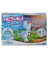 DISNEY FROZEN TROUBLE GAME OLAF'S ICE ADVENTURE NEW IN BOX
