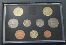 1989 Royal Mint UK Proof 9-Coin Set includes Bill & Claim of Rights £2 coins
