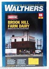 HO Scale Walthers Cornerstone 933-3010 Brook Hill Farm Dairy Building Kit
