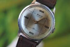 GREAT MEN'S VINTAGE MECCANICA: Hand-winding USSR RAKETA Watch 21 gioielli