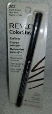 Revlon ColorStay 202 BLACK BROWN Eyeliner Softflex Pull-Out Sharpener .01 oz New