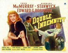 Double Indemnity 11x14 Movie Poster (1944)