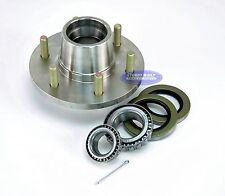 Boat Trailer Stainless Steel Hub Kit 6 Lug 6000lb w/ #25580 And #15123 Bearings