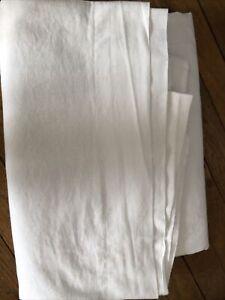 drap plat 2 personnes Blanc 100%coton 260x260