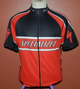 Specialized Red Black Cycling Jersey Men's XL