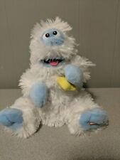 Gemmy Abominable Snowman Toy Singing Holly Jolly Christmas tested loud and soft