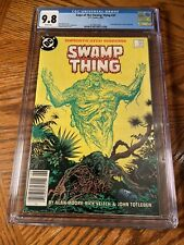 SWAMP THING #37 CGC 9.8 WHITE PAGES 1ST CONSTANTINE NEWSSTAND!