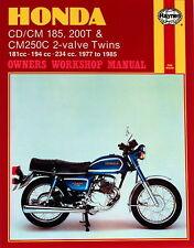 Reparaturhandbuch Honda CD/CM185 200T & CM250C 77-85