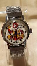 Vintage Ronald McDonald Wristwatch SWISS MADE By ELDORADO WATCH CO. SUPER RARE