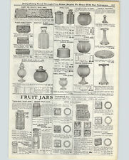 1915 PAPER AD Ball Mason Sanitary Sure Seal Improved Jelly Fruit Jar Lids Rings