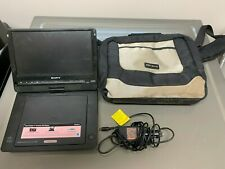 "Sony Dvp-Fx930 Portable Cd Dvd Player (9"") + sony Charger"