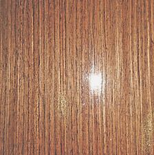 "Wenge African composite wood veneer 19"" x 48"" with wood backer (1/25th"" thick)"