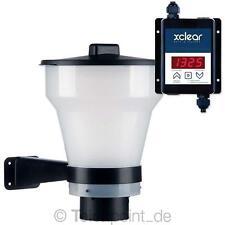 Xclear Teich Futterautomat  Fish Feeder, Profi Koi Gartenteich 7 Liter 2-9 mm