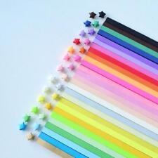 240pcs Origami Star Paper Strips Folding Paper Ribbons Wish Star Paper Charm