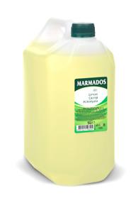 5 Litre MARMADOS, Lemon Aftershave Cologne, Turkish Limon Kolonya, 80+, 5000ml