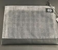 JACK SPADE MEN'S PLAID WAXWEAR CORD POUCH NEW WITH TAGS