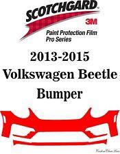 Genuine 3M Scotchgard Paint Protection Film Pro Series 2015 Volkswagen Beetle