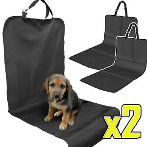 2x Travel Pet Cat Dog Car Seat Cover Protector Mat Puppy Carrier Safety Padded
