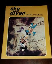 Vintage August 1967 Sky Diver Magazine Collectable
