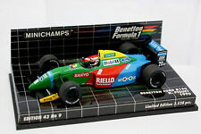 Minichamps 1/43 - F1 Benetton Ford 1990 B190 Piquet
