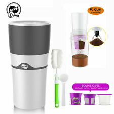 i Cafilas Portable K Cup Drip Coffee Insulated Travel Mug - Comes with 3 K-Cups
