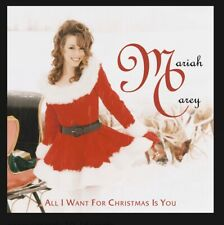 AUTOGRAPHED SIGNED Mariah Carey All I Want For Christmas Is You Rare CD Single!!