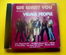 """CD """" VILLAGE PEOPLE - THE VERY BEST OF / WE WANT YOU """" 13 SONGS (YMCA)"""