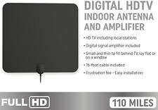 Decibel HD-TV Antena digital de largo alcance & antena de televisión de amplificador
