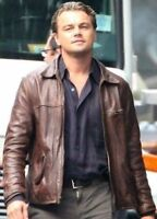 création Cobb vintage authentique cuir vachette marron Elégant pour hommes veste