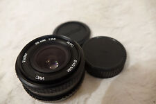Vivitar  VMC 28mm f2.8 Wide Angle Lens (Pentax P/K Fit) 100% working pk