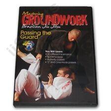Mastering Groundwork Brazilian Jiu Jitsu Passing Guard Dvd Lira spider z closed