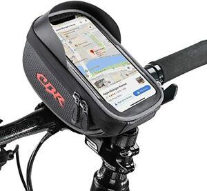 Fahrrad Tasche Rahmentasche Handyhalter e-Bike Smartphone Halterung 7,1*3.9zoll