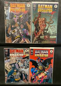 Batman Versus Predator 2: #1, 2, 3 4 SERIES RUN II 1994 UNREAD HIGH GRADE