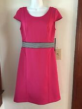 Marc by Marc Jacob size 4 fuschia cute summer go to work  dress