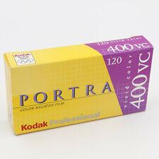 Kodak Pro Pack (5 Rolls) Portra 400VC ISO. 120 Film.  Expired 11/2004   C49777