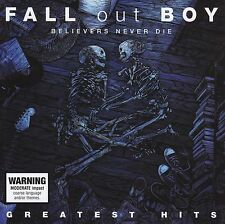 FALL OUT BOY - GREATEST HITS : BELIEVERS NEVER DIE CD w/BONUS Trx! BEST OF *NEW*