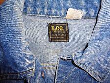 "VTG 70'S LEE SANFORIZED UNION MADE TRUCKER JACKET SMALL OR 40"" CHEST"