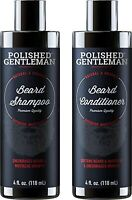 Polished Gentleman Beard Growth and Thickening Shampoo and Conditioner 4oz