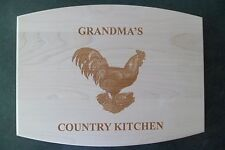 Custom Maple Cutting Board Grandma's Country Kitchen