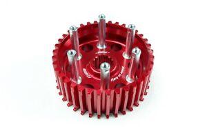 Ducati Tamburo frizione a secco Ergal Allegerito rosso - dry clutch hub