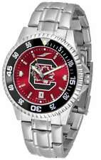 South Carolina Gamecocks-Competitor Steel AnoChrome - Color Bezel Mens Watch