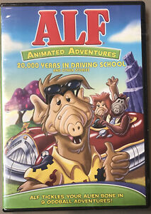 BRAND NEW ALF: Animated Adventures: 20,000 Years In Driving -R1 DVD FREE POSTAGE