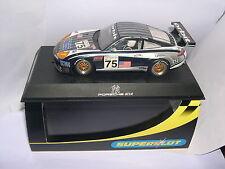 SUPERSLOT H2480 PORSCHE 911 GT3R  #75  N Y YANKEES     SCALEXTRIC UK  MB