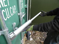 shipping container door opening tool 8ft 10ft 20ft 40 ft Patent product