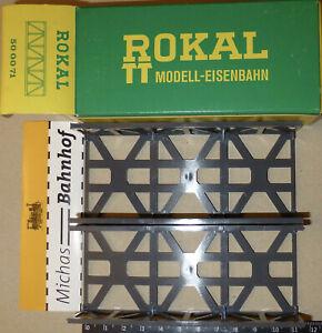 Box Bridge 115mm Long 2 Piece For TT New Stock Closing Rokal 500071 U' D2 Å