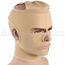 Anti-Aging Wrinkle Full Face Neck Chin Lift Slim Mask Breathable Tight Flexible